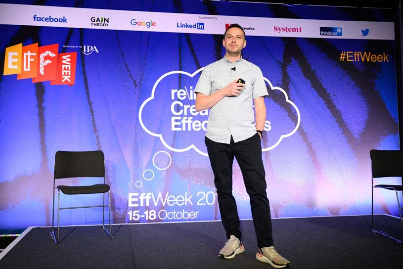 Adidas: Peel speaking at EffWeek