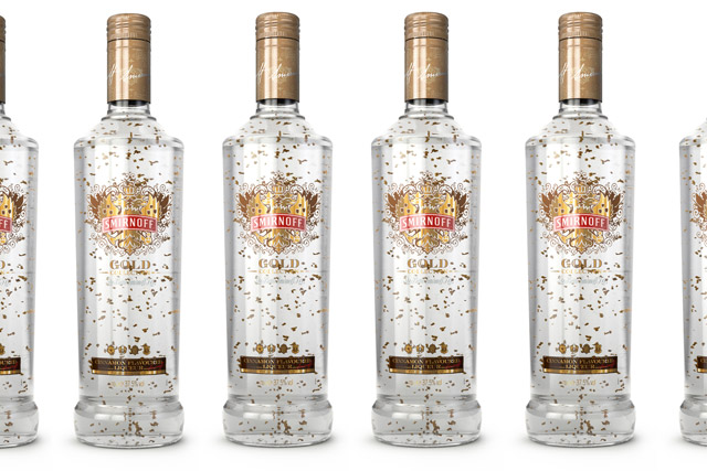 Smirnoff: rolls out Gold variant