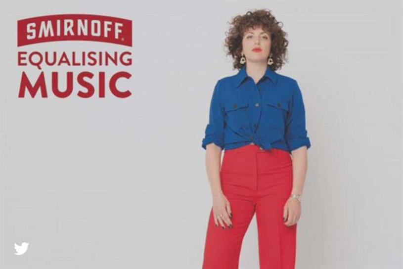 Smirnoff: campaign cited as good example of brands getting involved with communities