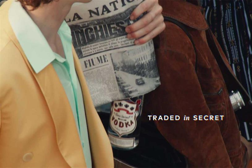 Diageo: last year launched first global campaign for Smirnoff in 25 years