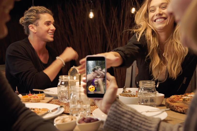 Snapchat: will aim to appeal to a wider audience without alienating young user base