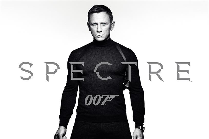 Daniel Craig: stars as James Bond in Spectre