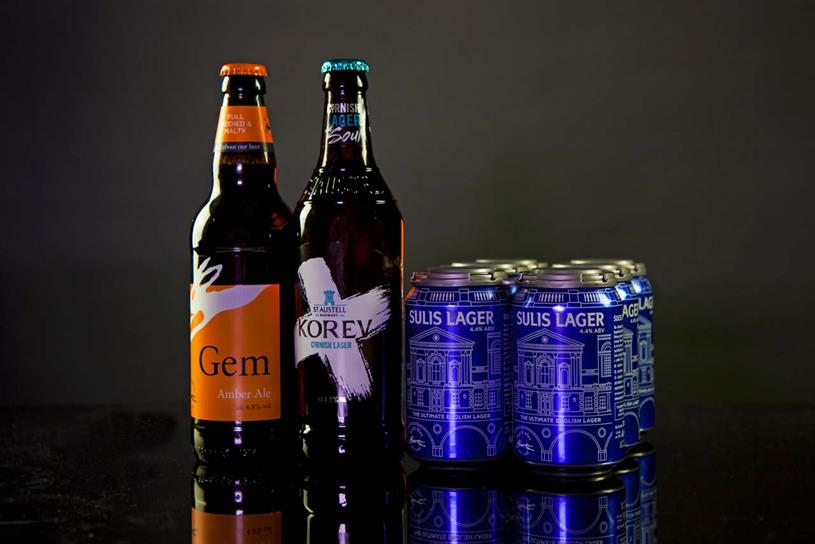 St Austell Brewery: TMW adds three brands to its remit