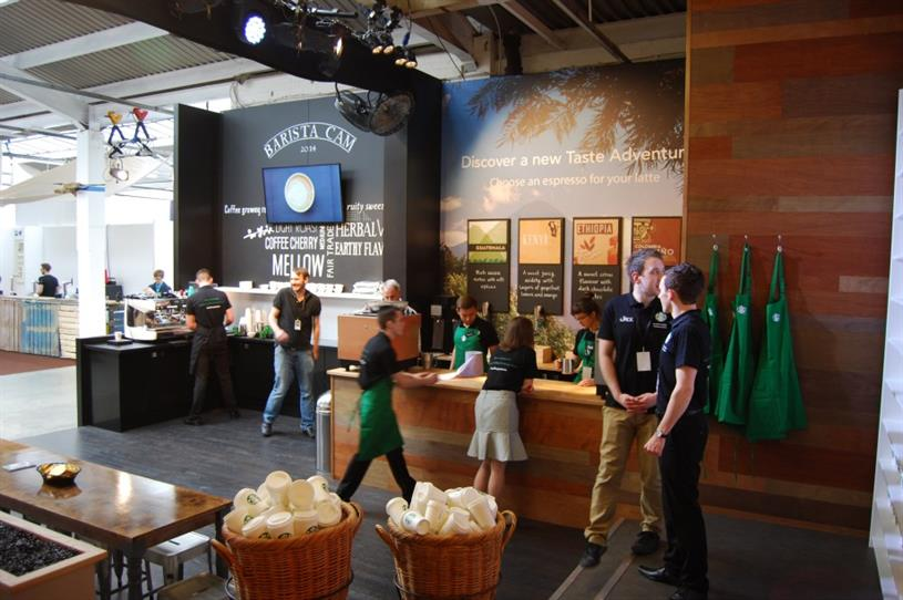 Starbucks is activating at the London Coffee Festival this bank holiday weekend