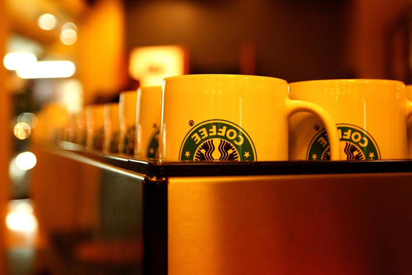 Starbucks: recently appointed Havas Helia to handle customer engagement