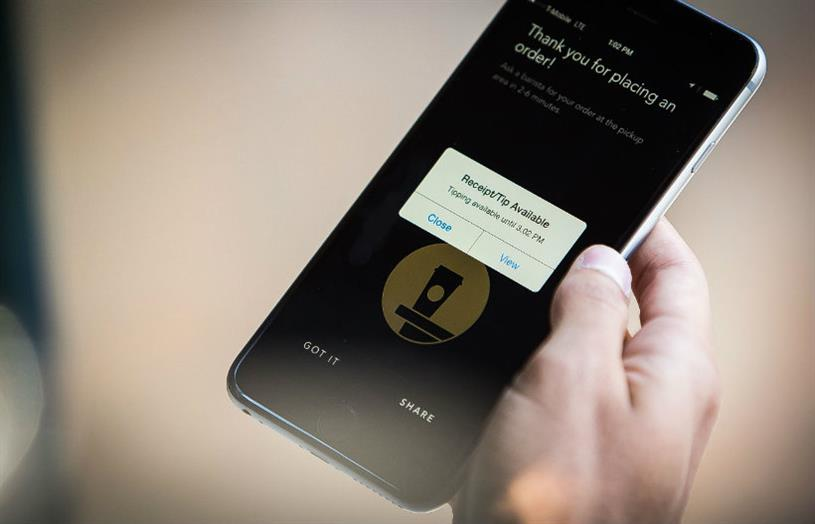 Starbucks: mobile app is a win-win for consumers and the brand