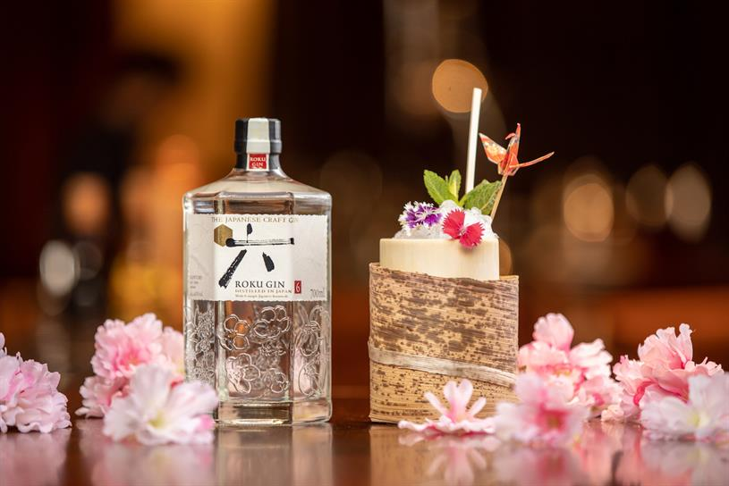 Suntory: Roku Gin is one of its premium craft spirits