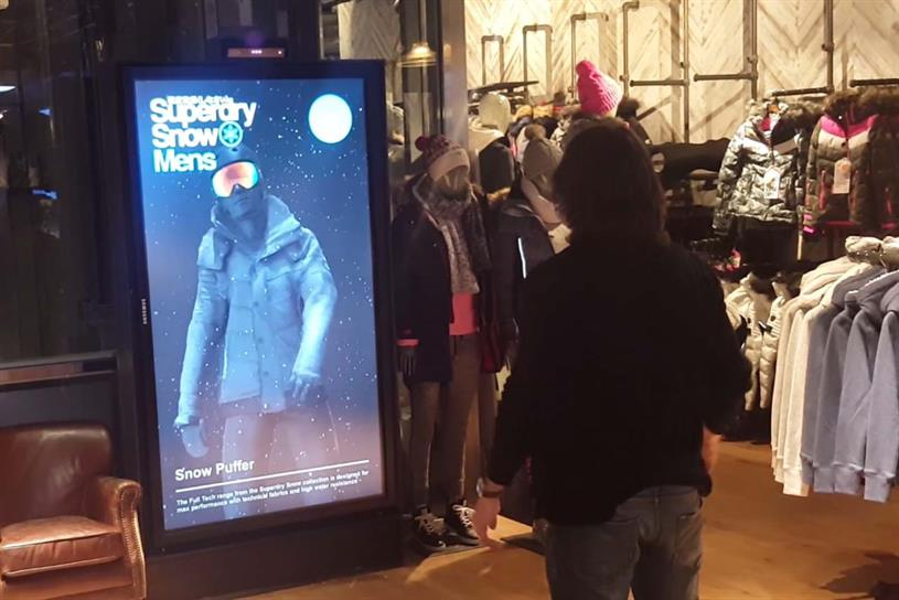 the latest 4ddcf 9e541 Superdry installs 'smart mirror' to let shoppers try on ...