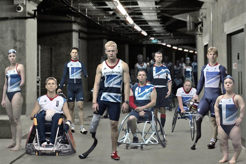 "Channel 4's ""meet the superhumans"" campaign"