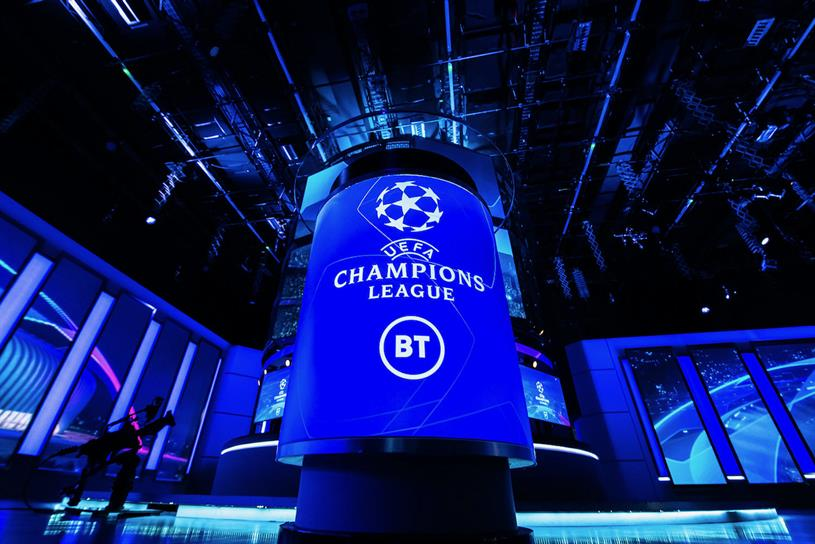 BT: retains Champions League rights