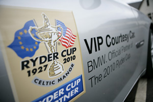 TRO was tasked with BMW sponsorship activation at the 2010 Ryder Cup