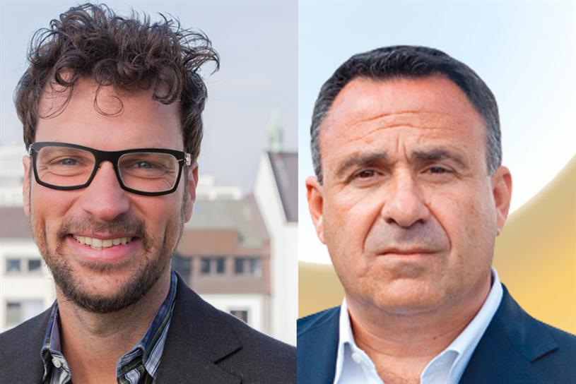 OMD Worldwide: names Florian Adamski (left) chief executive and Colin Gottlieb as chairman