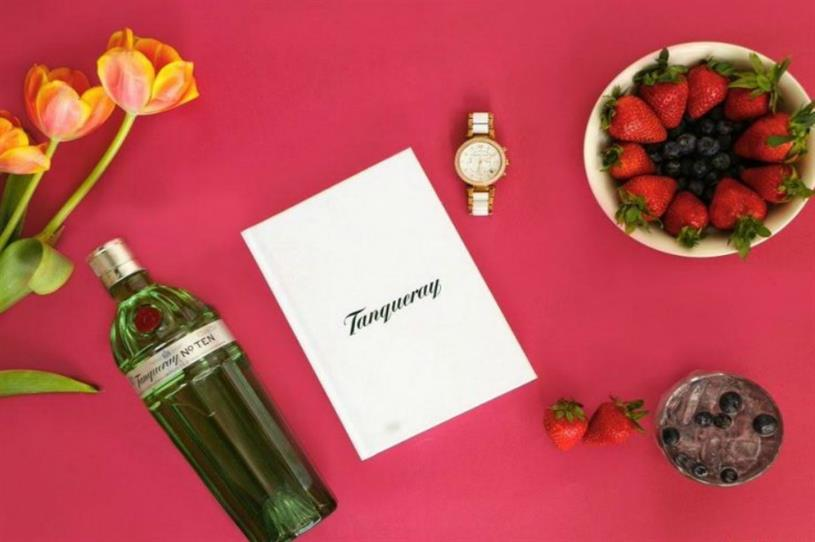 Tanqueray: gin and juice collaboration