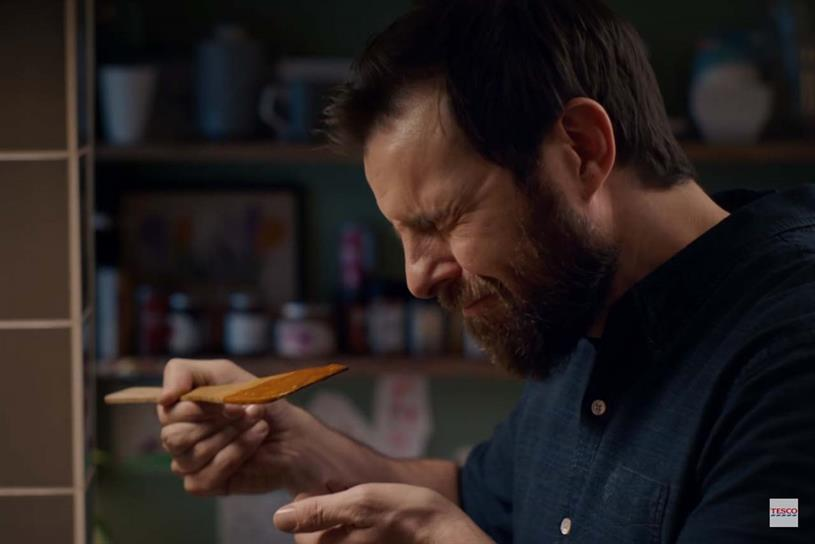 Tesco's 'Food love stories' campaign, created by Bartle Bogle Hegarty London