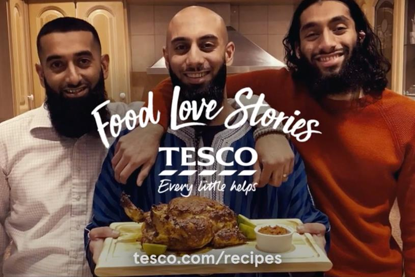 Tesco: campaign shows it values Muslim consumers