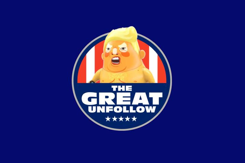 The Great Unfollow: encourages public to use Twitter against Trump