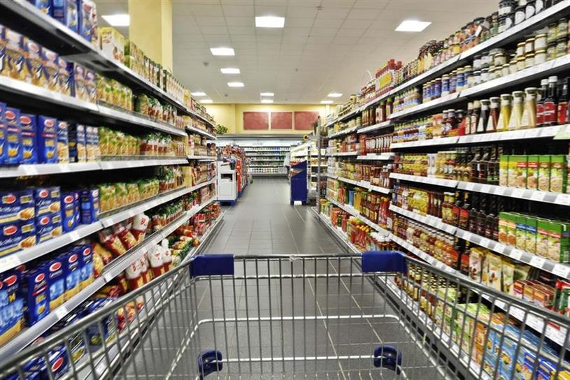 Supermarkets: fully stocked shelves have been a rare sight in recent weeks