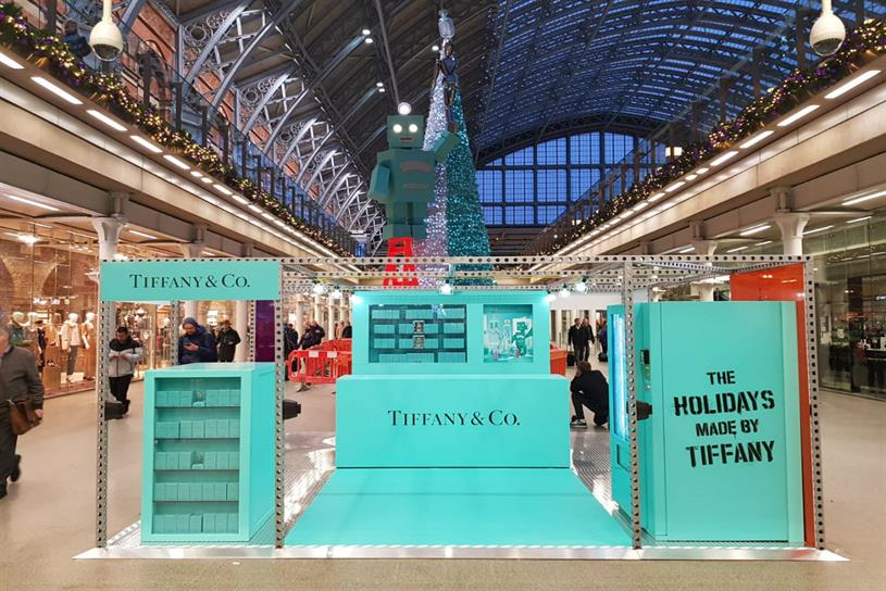 Tiffany & Co: 'sensorial' experience