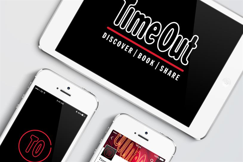 Time Out: it is rebranding
