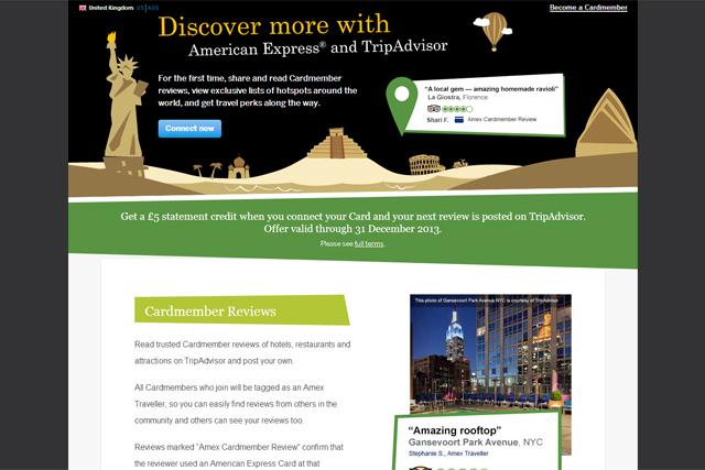 American Express: partnership with TripAdvisor