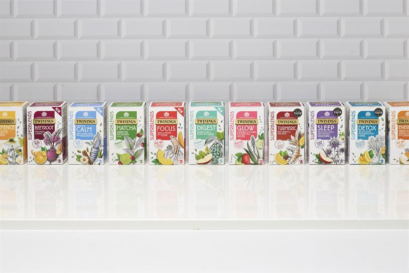 Twinings: has seen growth in the wellbeing category