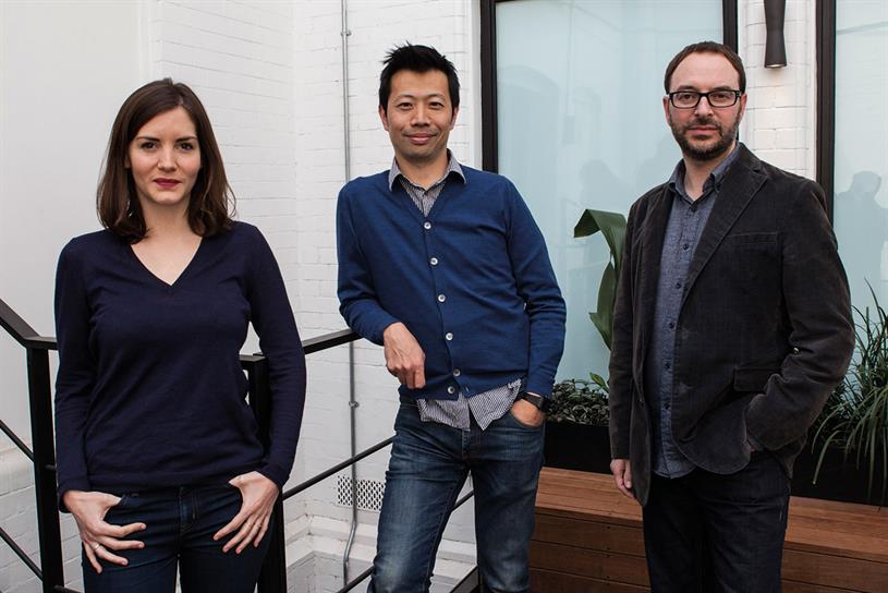 VCCP: newcomers Marian (left) and Gans (right) with Lee