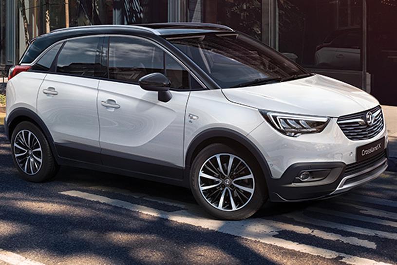 Vauxhall: Crossland X