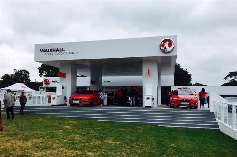 Vauxhall creates immersive experience at Goodwood Festival of Speed
