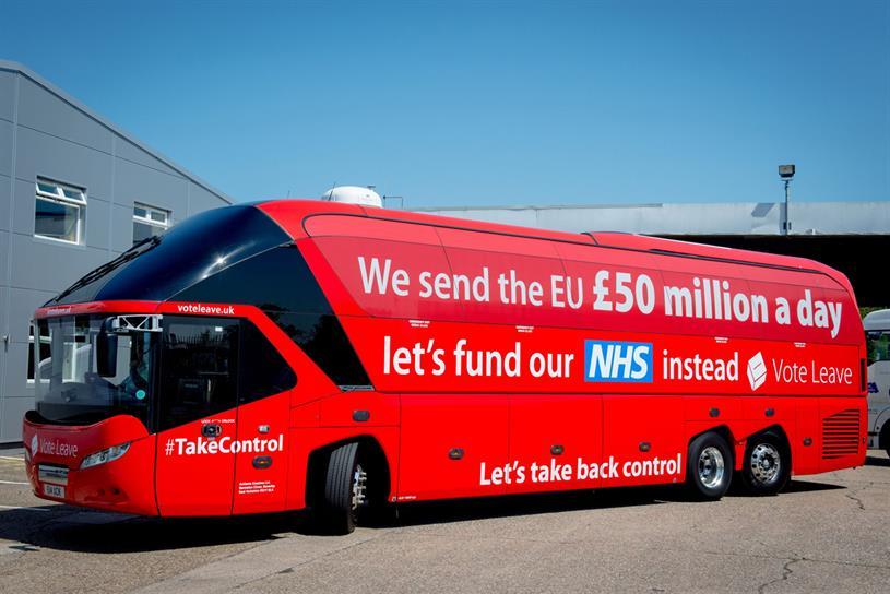 Vote Leave: £350m claim