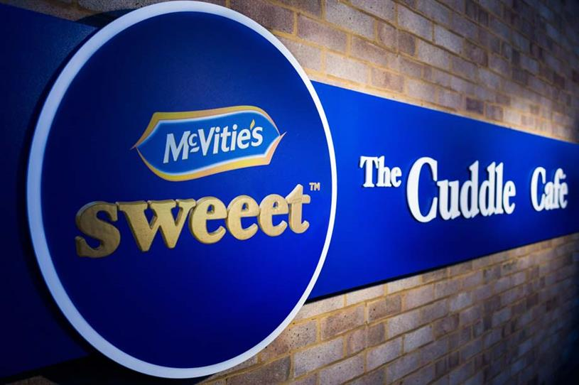 London to host McVitie's pop-up Cuddle Café