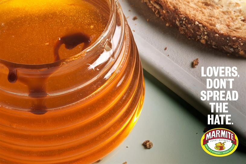 Marmite: won three gold Lions