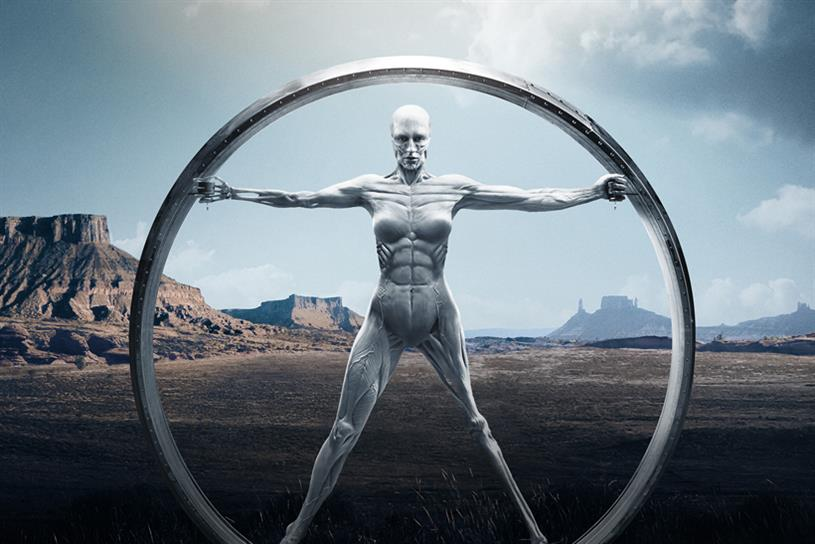 Westworld: the series explores the complex morality of AI (image: Sky)