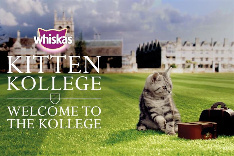 Whiskas: parent Mars is the first brand to sign up to the crowdsourcing platform