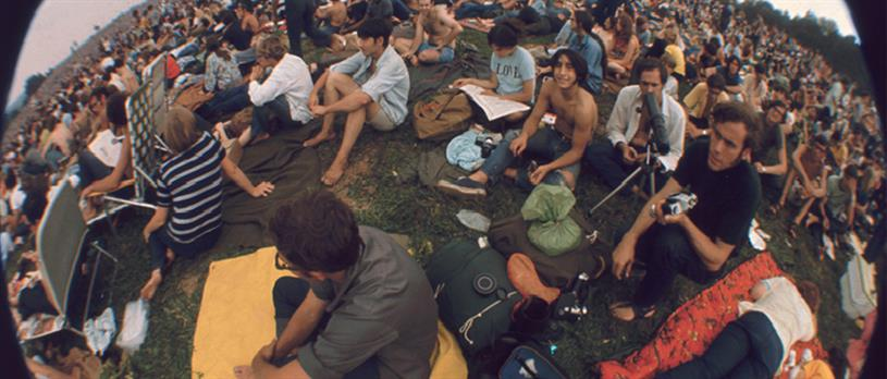 The original Woodstock: Bethel Woods (credit Getty Images)