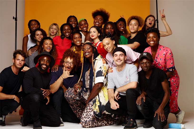 Ogilvy Roots team members on World Afro Day
