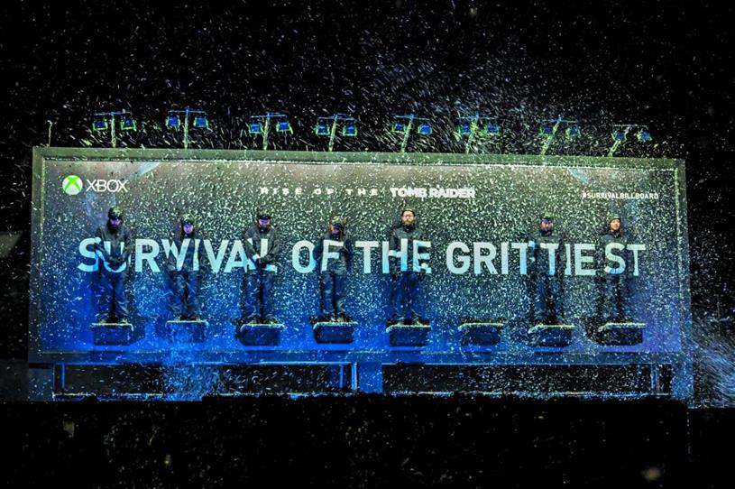 Xbox 'Survival billboard': won numerous Cannes Lions for Microsoft