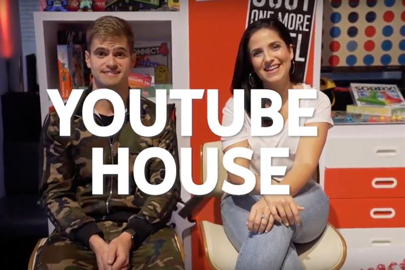 YouTube house: The Fitness Marshall and Laura in the Kitchen