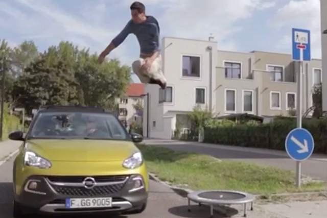 With an Opel there are no need for doors