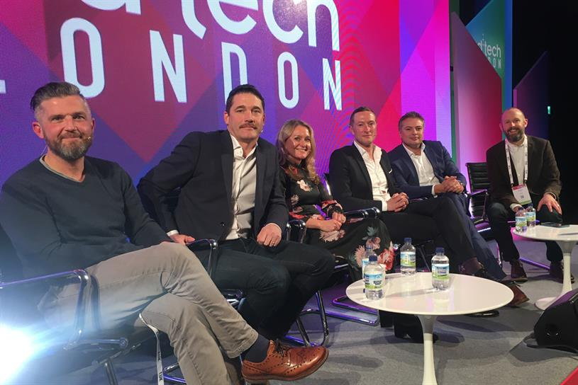 (From left) Lloyd-Williams, MacCallum, Forde, Morris, Adams and Mew