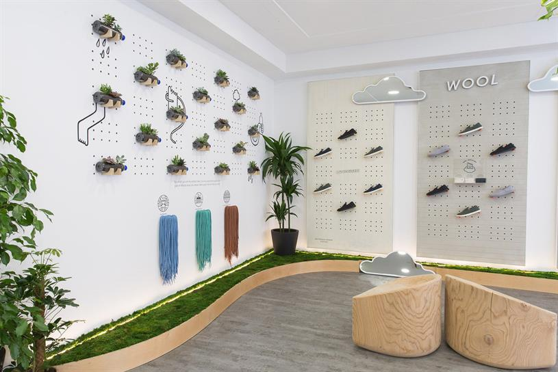 Allbirds: Covent Garden store