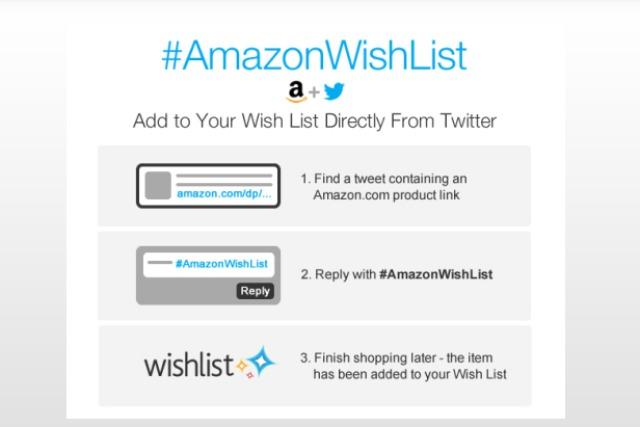 amazon expanding shopping on twitter - Amazon Christmas List