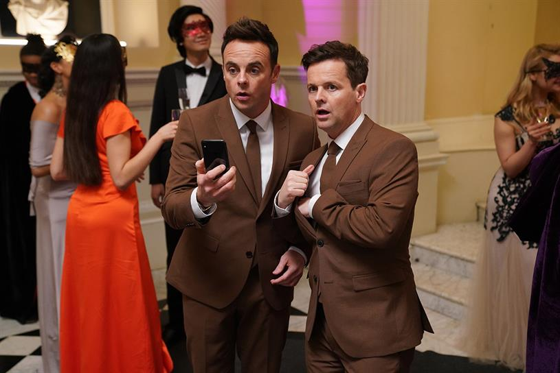 Ant & Dec's Saturday Night Takeaway: attracted biggest-ever audience this weekend