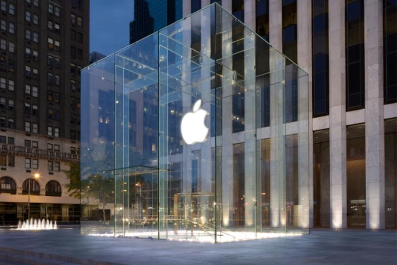 Apple: topping FutureBrand's ranking