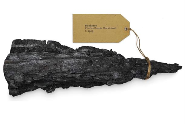 'Ashes to art' created by JWT London for Glasgow School of Art