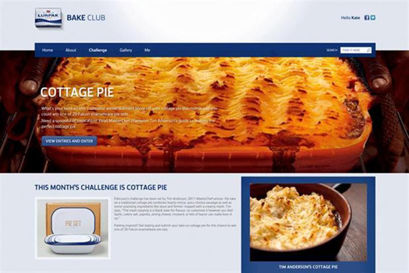 Lurpak Bake Club: the branded community has disappeared