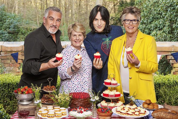 Bake Off: Hollywood, Toksvig, Fielding, and Leith