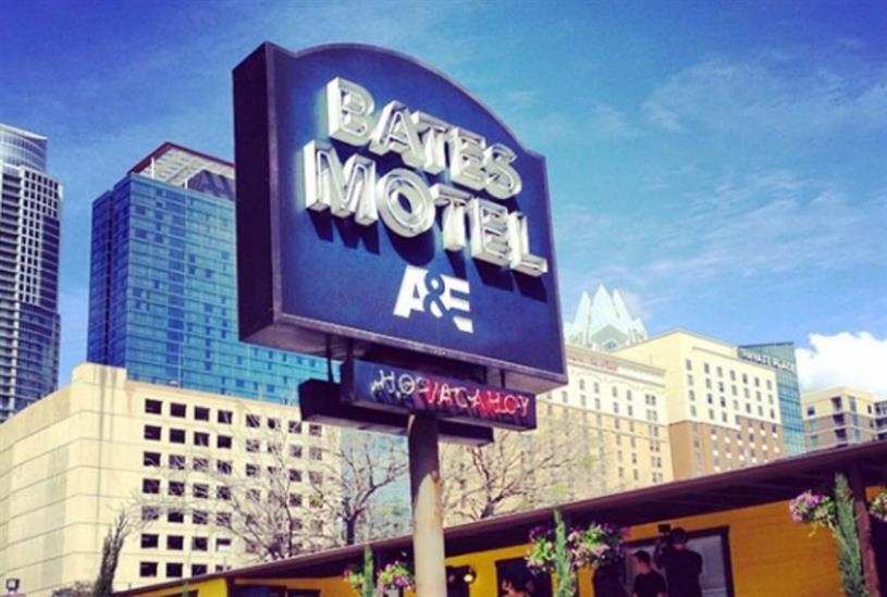 Television series Bates Motel has set up a pop-up motel for fans of the show