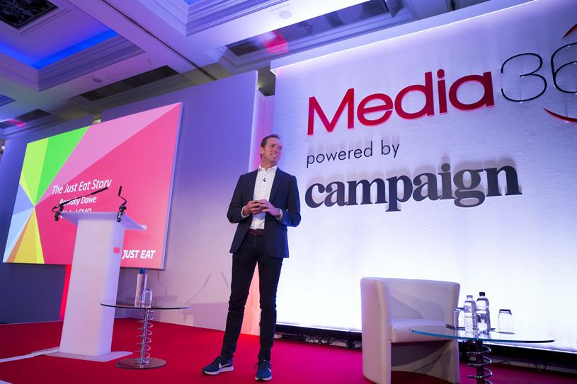 Dawe: spoke at Campaign's Media360 conference last week