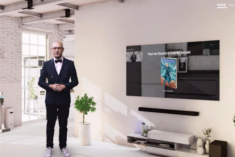 Samsung: marketeer Benjamin Braun appears in the virtual experience