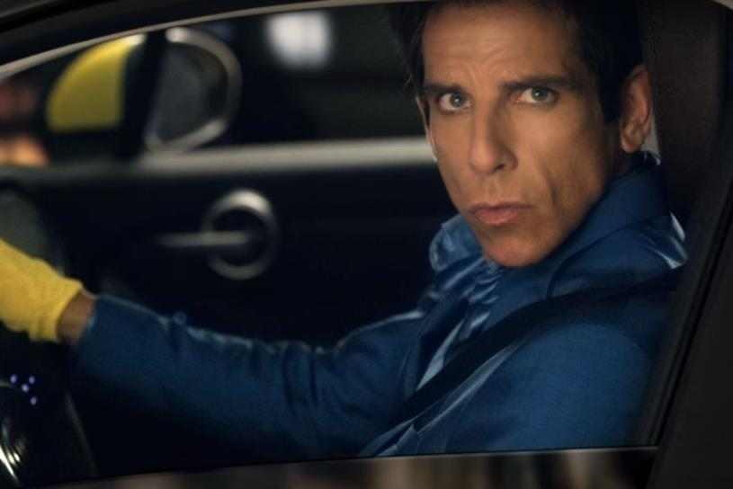 Fiat ad: some of his best work, according to Zoolander